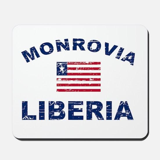 Monrovia Liberia designs Mousepad