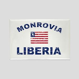 Monrovia Liberia designs Rectangle Magnet
