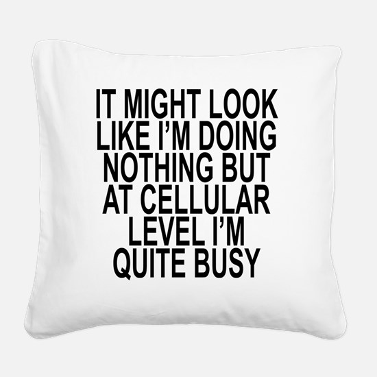 Cool Do Square Canvas Pillow