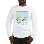 Halo Frisbee Long Sleeve T-Shirt