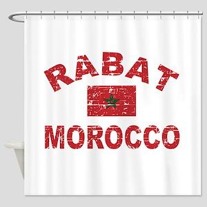 Rabat Morocco designs Shower Curtain