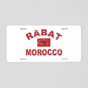 Rabat Morocco designs Aluminum License Plate