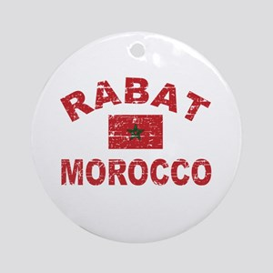 Rabat Morocco designs Ornament (Round)
