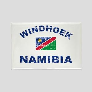 Windhoek Namibia designs Rectangle Magnet