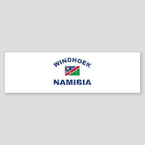 Windhoek Namibia designs Sticker (Bumper)