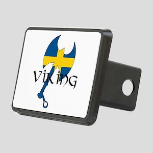 Swedish Viking Axe Rectangular Hitch Cover