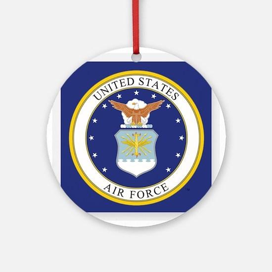 U.S. Air Force 70th Anniversary 194 Round Ornament