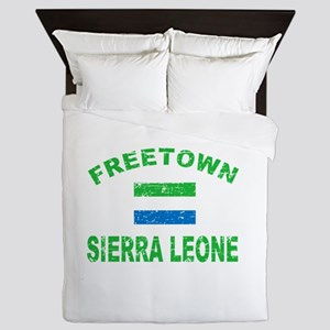 Freetown Sierra Leone designs Queen Duvet