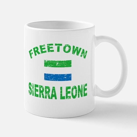 Freetown Sierra Leone designs Mug