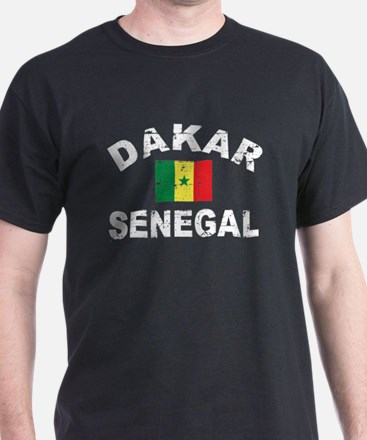 Dakar Senegal designs T-Shirt