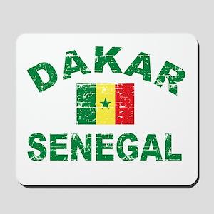 Dakar Senegal designs Mousepad