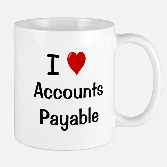 Accounts Payable - I Love Accounts Payable Mug