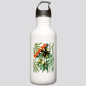 Hawaii Tropical Print Stainless Water Bottle 1.0L