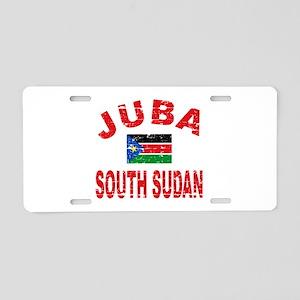 Juba South Sudan designs Aluminum License Plate
