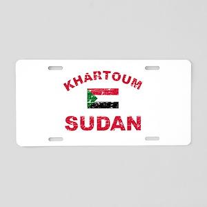 Khartoum Sudan designs Aluminum License Plate