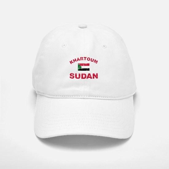 Khartoum Sudan designs Baseball Baseball Cap