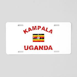 Kampala Uganda designs Aluminum License Plate