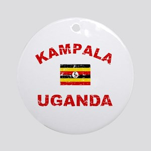 Kampala Uganda designs Ornament (Round)