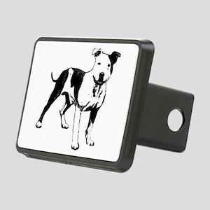 Bull Terrier Rectangular Hitch Cover