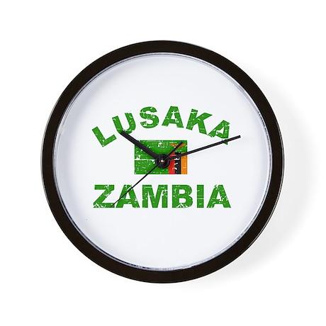 Lusaka Zambia designs Wall Clock