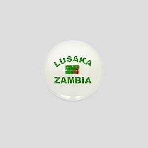 Lusaka Zambia designs Mini Button