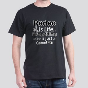 Rodeo Is Life Dark T-Shirt