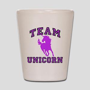 Team Unicorn Shot Glass
