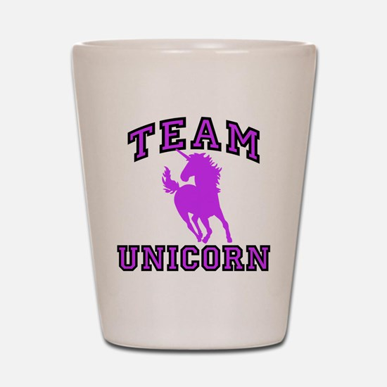 Team Unicorn Shot Glass