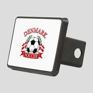 Denmark Soccer Designs Rectangular Hitch Cover