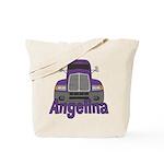 Trucker Angelina Tote Bag