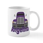 Trucker Angelina Mug