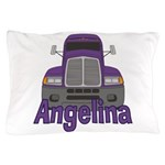 Trucker Angelina Pillow Case