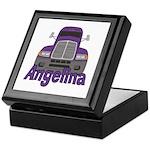 Trucker Angelina Keepsake Box