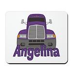 Trucker Angelina Mousepad
