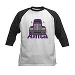Trucker Anita Kids Baseball Jersey