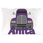 Trucker Anita Pillow Case
