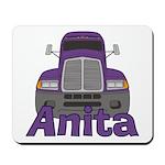 Trucker Anita Mousepad