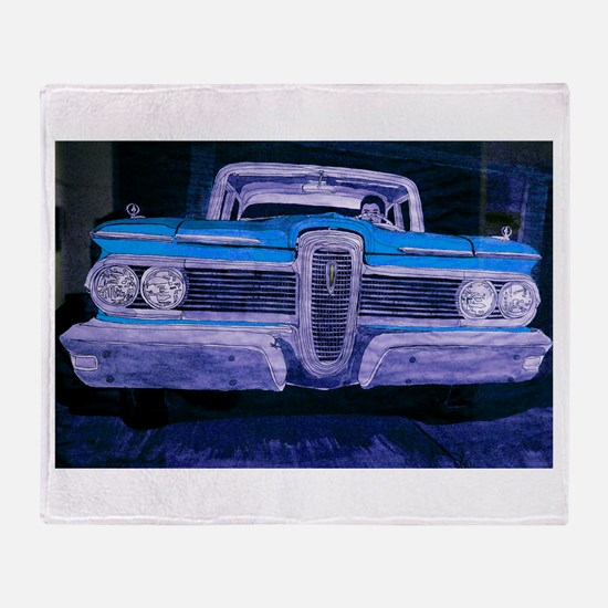 59 EDSEL Throw Blanket