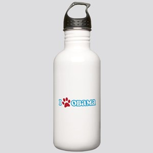 I Pawprint Obama Stainless Water Bottle 1.0L