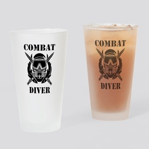 Combat Diver (3) Drinking Glass