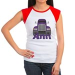 Trucker Ann Women's Cap Sleeve T-Shirt