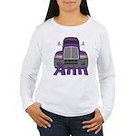 Trucker Ann Women's Long Sleeve T-Shirt