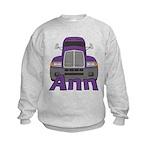 Trucker Ann Kids Sweatshirt