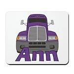 Trucker Ann Mousepad