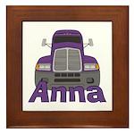 Trucker Anna Framed Tile