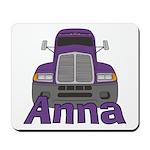 Trucker Anna Mousepad