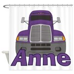 Trucker Anne Shower Curtain
