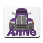 Trucker Anne Mousepad
