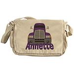 Trucker Annette Messenger Bag