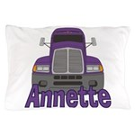 Trucker Annette Pillow Case